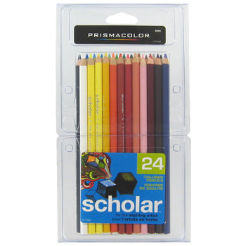 Prismacolor Scholar Colored Pencils - 24 Piece Set
